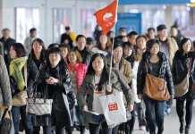"""外国游客在韩消费退回10年前 自""""萨德""""以来连续下降"""