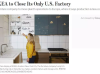 宜家将关闭美国唯一工厂:在欧洲成本便宜70%