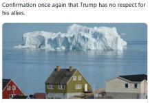 """比利时前首相为特朗普""""出招"""":拿阿拉斯加换格陵兰岛"""
