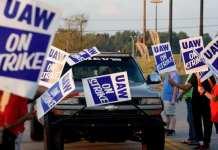 消息人士:通用汽车和UAW即将达成协议 结束罢工