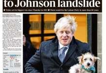 英国圣诞月大选结果出炉!约翰逊胜选,脱欧无悬念?